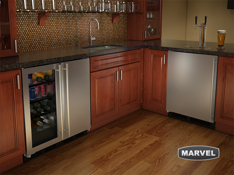Marvel undercounter refrigeration
