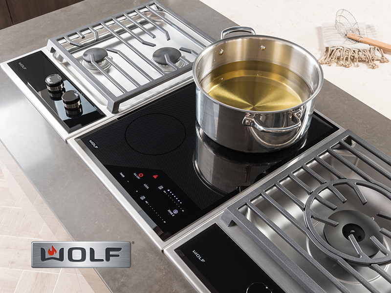Wolf Electric Cooktop