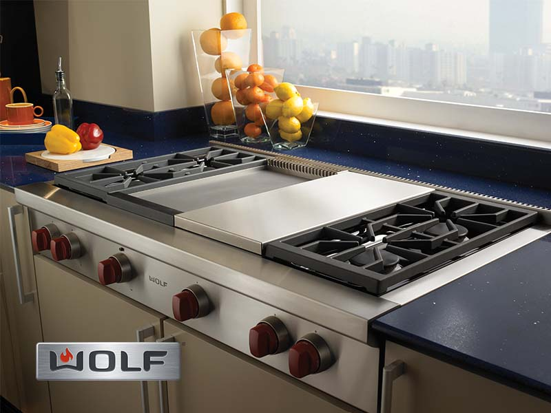 Wolf Range Top Cooktop