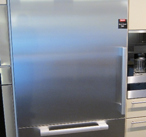 "MasterCool 36"" Over/Under Refrigerator/Freezer"