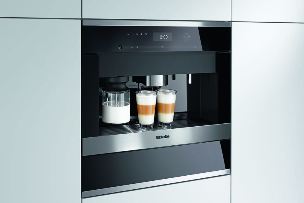 Miele built-in coffee system with OneTouch for Two