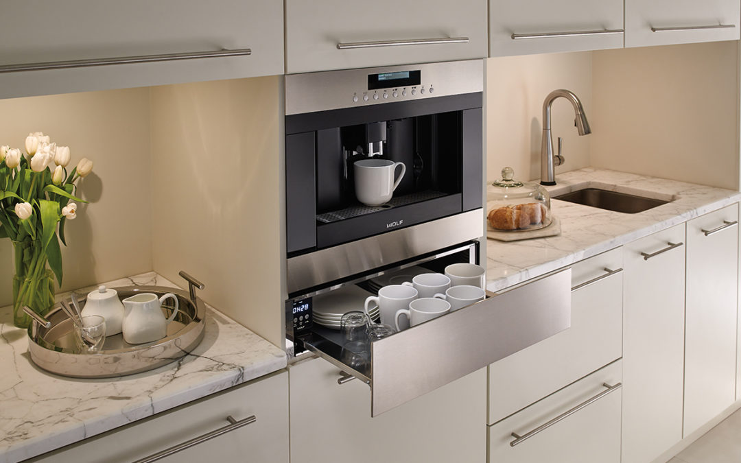 Built-in Coffee Machines: Wake Up and Smell the Coffee