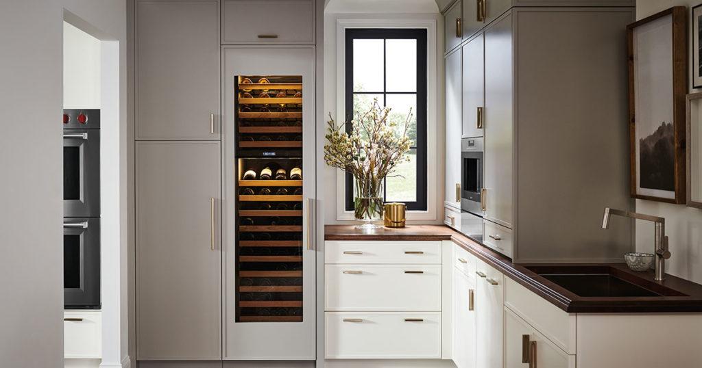 Sub-Zero wine column
