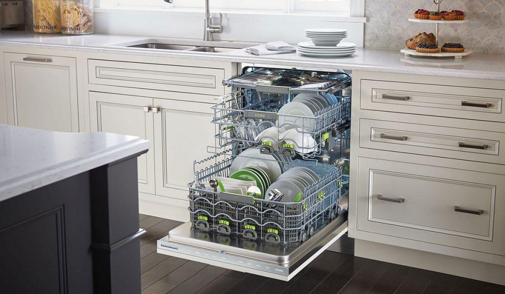 Open Cove dishwasher